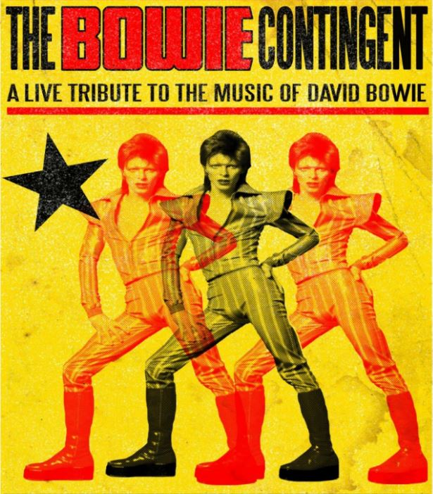 A flyer for David Bowie tribute act