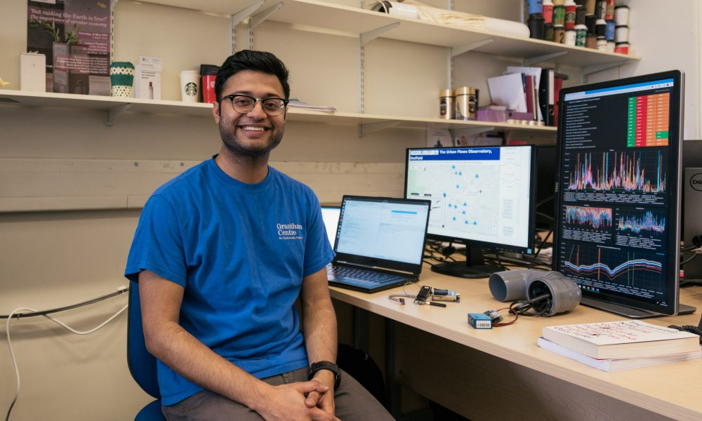 Rohit Chakraborty and the tools that help him tackle air pollution in Sheffield