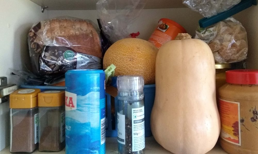 food resilience - a UK food cupboard