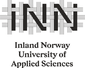 Cecile now works at Inland Norway University and this is their logo