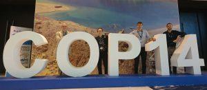 Joe at COP14