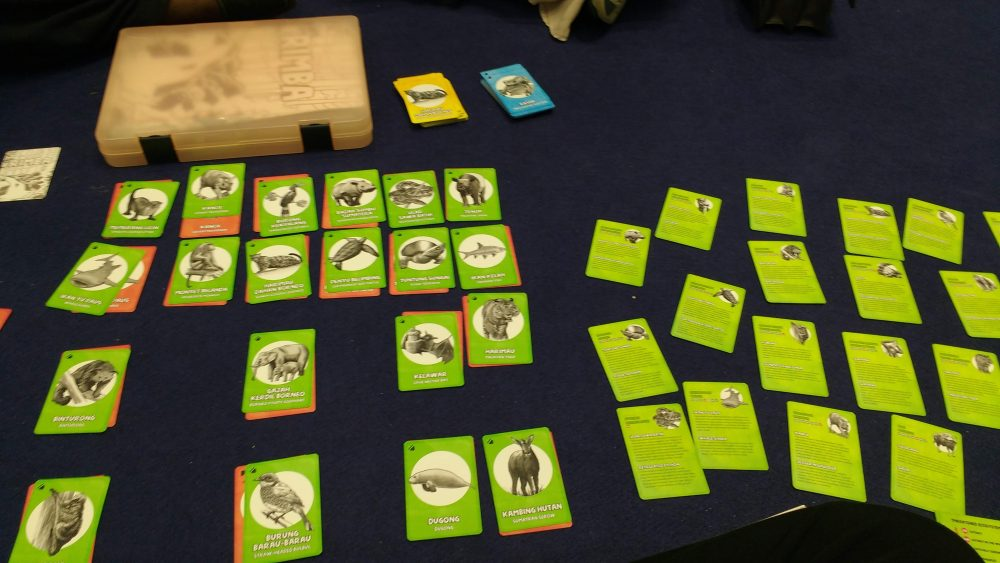 an educational card game
