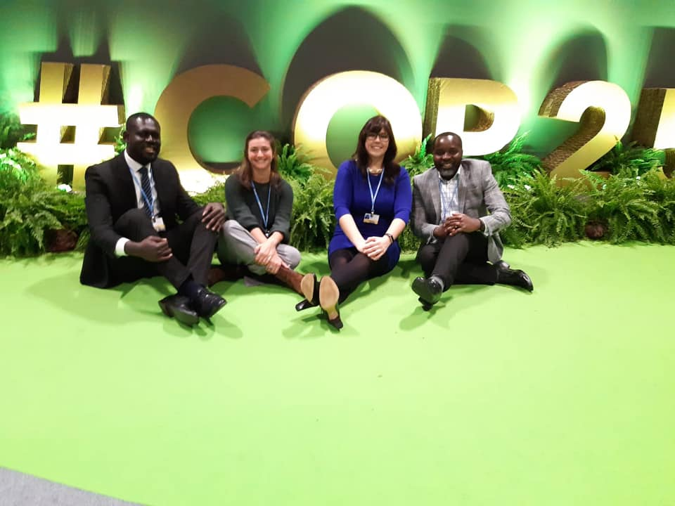 Grantham Scholars at COP25
