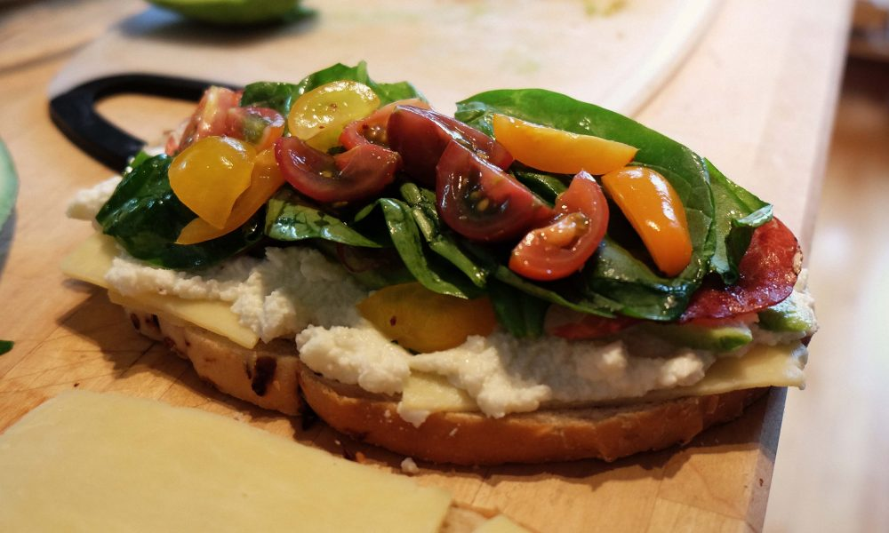 a sustainable sandwich