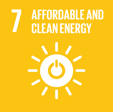 icon for SDG 7 Affordable and Clean Energy