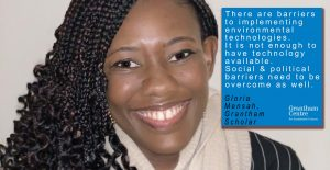 Gloria Mensah who says scientists should think like policy makers