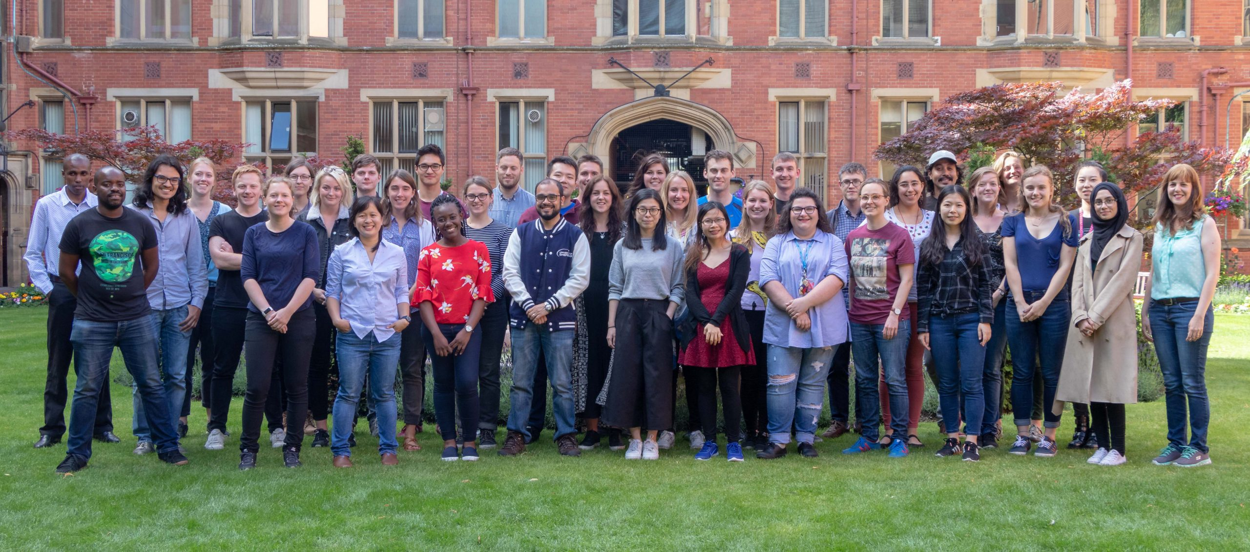 free sustainability webinars are created by our Grantham Scholars who are pictured here