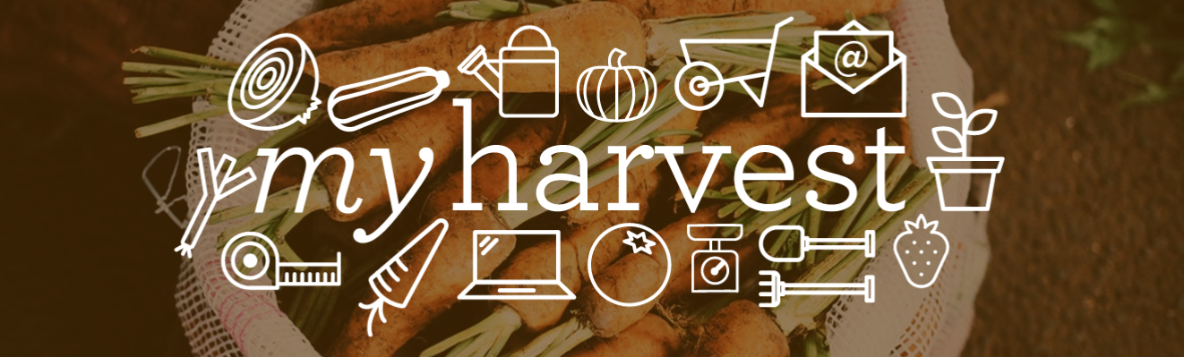 My Harvest logo for SheffYield event