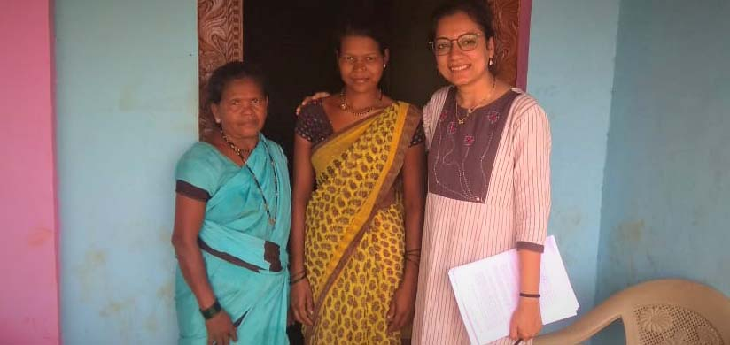 How to make sustainable energy for all? Reena and 2 ladies working for energy justice in rural India.
